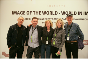 Jury at Camerimage (LR) David Kwok, Piotr Stasik, SCB, Joan Churchill, Haskell Wexler